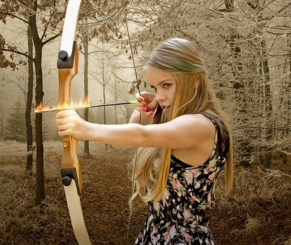 жена стрелец