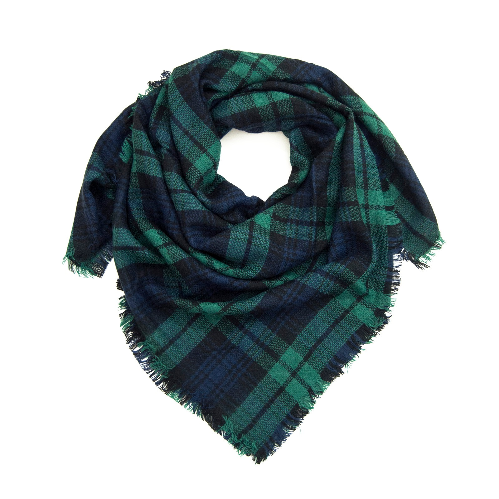 шал в шотландско каре
