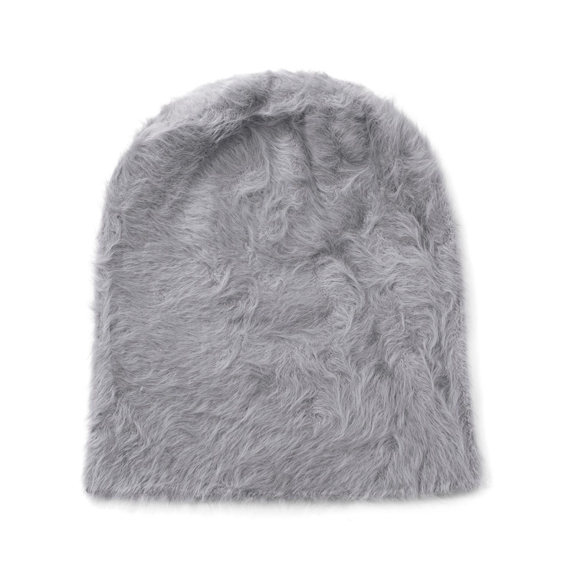 дамска шапка от ангорска прежда